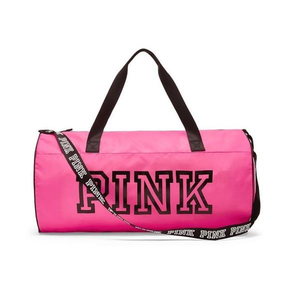 5d2988d59843 Victoria s Secret PINK Logo Weekender Duffle Bag. M 5b5e5b9bbb76154157a12fd9